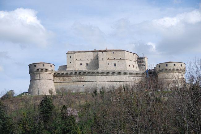 Fortezza del borgo di San Leo in Romagna